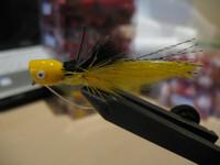 Bass Popper Yellow  2pk.