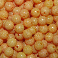 TroutBeads Mottled Egg Yolk three sizes available