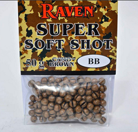 Raven Super Soft Shot Camo Brown