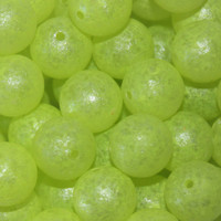 Troutbeads GlowBeadz Chartreuse Glow (4 sizes)