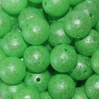 Troutbeads GlowBeadz Green Glow (4 sizes)