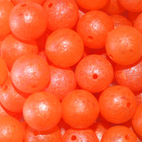 Troutbeads GlowBeadz Orange Glow (4 sizes)
