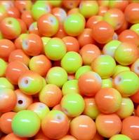 CREEK CANDY BEADS Candy Corn 8mm SINKZ (15 pack)
