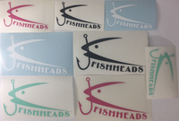 Fishheads Die-Cut Stickers