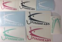 Fishheads Die-Cut Stickers
