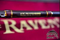 Raven 11'6 IM6 Spiral Baitcaster Rod