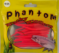 Phantom Wacky Wigglers - Garden Worms (choose colour)