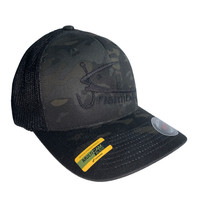 Fishheads MULTICAM Series Black Camo/Black - Trucker