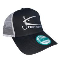 Fishheads Black/White - Trucker