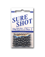 SURE SHOT SPLIT SHOTS (Small & Large packs, 8 sizes)