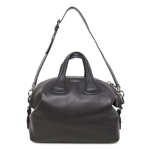 Givenchy Black Calfskin Medium Nightingale