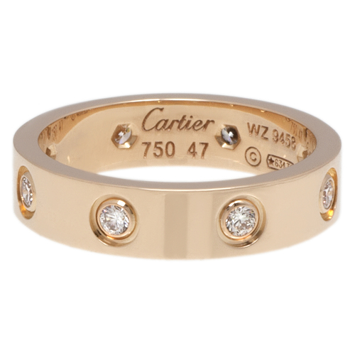 Cartier 18k Love rign