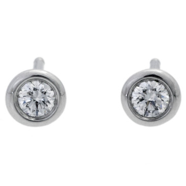 Tiffany & Co Diamonds by the Yard Platinum Earrings