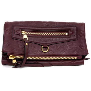 Louis Vuitton Flamme Empreinte Petillante Clutch