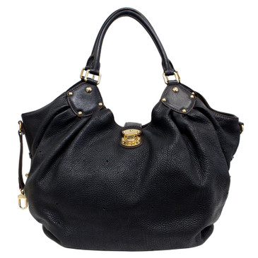 Louis Vuitton Black Monogram Mahina  L