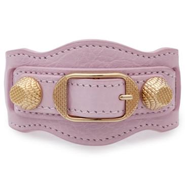 Balenciaga Pink Giant Gold Bracelet