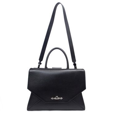 Givenchy Black Leather Obsedia Medium Tote