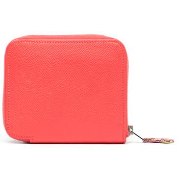 Hermes Jaipur Pink Epsom Silk'in Compact Wallet
