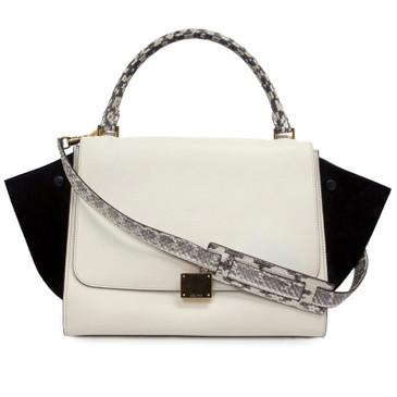 Celine Medium Tri Color Trapeze Bag