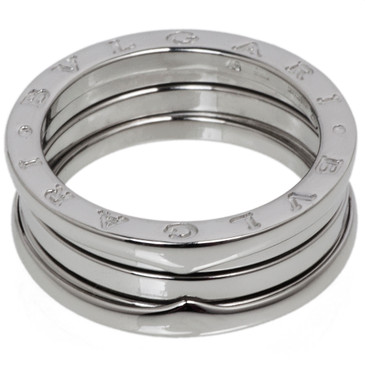 Bvlgari Bulgari 18K White Gold B.Zero1 Three Band   Ring