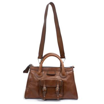 Chloe Brown Leather Edith Bag
