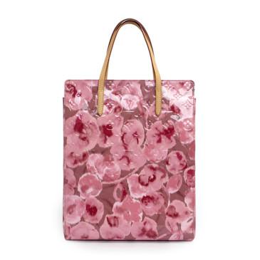 Louis Vuitton Rose Velours Ikat Catalina Tote