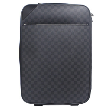Louis Vuitton Damier Graphite Pegase Light 55 Rolling Luggage