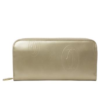 Cartier Happy Birthday Zipped International Wallet