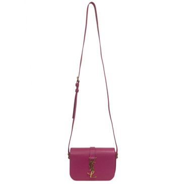 YSL Saint Laurent Pink Monogram Sac Universite Small Shoulder Bag
