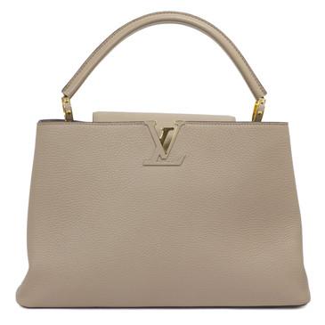 Louis Vuitton Taurillon Leather Capucines MM