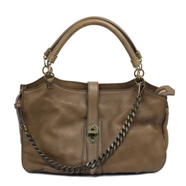 Burberry Leather Landen Shoulder Bag