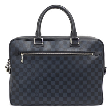 Louis Vuitton Damier Cobalt Porte Document Business Bag