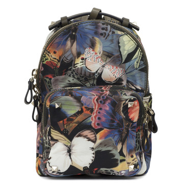 Valentino Camubutterfly Mini Backpack