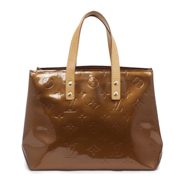 Louis Vuitton Bronze Vernis Reade PM