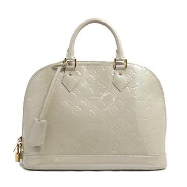 Louis Vuitton Blanc Corail Vernis Alma PM