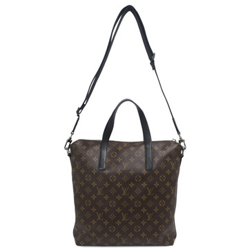 Louis Vuitton Monogram Macassar Kitan Bag
