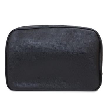 Louis Vuitton Ardoise Taiga Leather Toilet Pouch