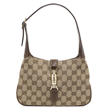 Gucci Monogram Canvas Small New Jackie
