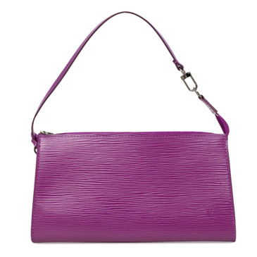 Louis Vuitton Fuchsia Epi Pochette Accessories 24