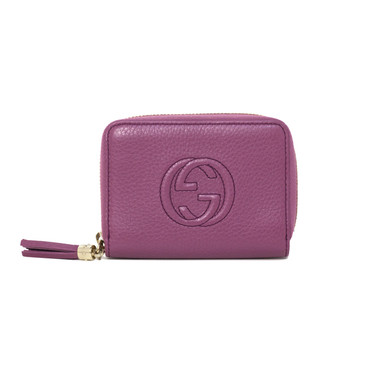 Gucci Soho Leather Disco Wallet