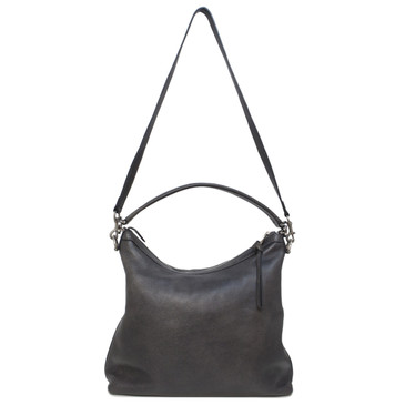 Gucci Grey Calfskin Miss GG Hobo