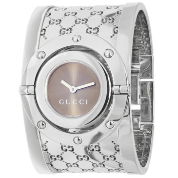 Gucci Stainless Steel 112 Twirl Ladies Watch