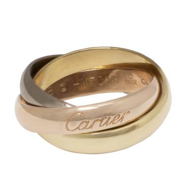 Cartier 18K Trinity De Cartier Ring