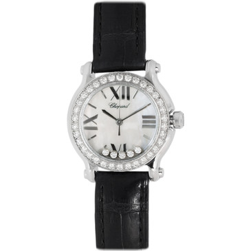 Chopard Stainless Steel & Diamond Happy Sport Watch