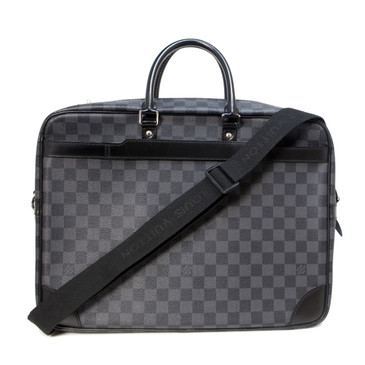 Louis Vuitton Damier Graphite Porte Documents Voyage GM Briefcase