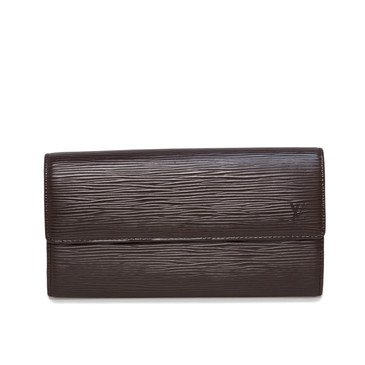 Louis Vuitton Brown Epi Sarah Wallet