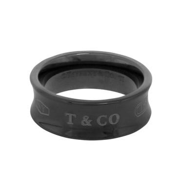 Tiffany & Co. Titanium 1837 Ring