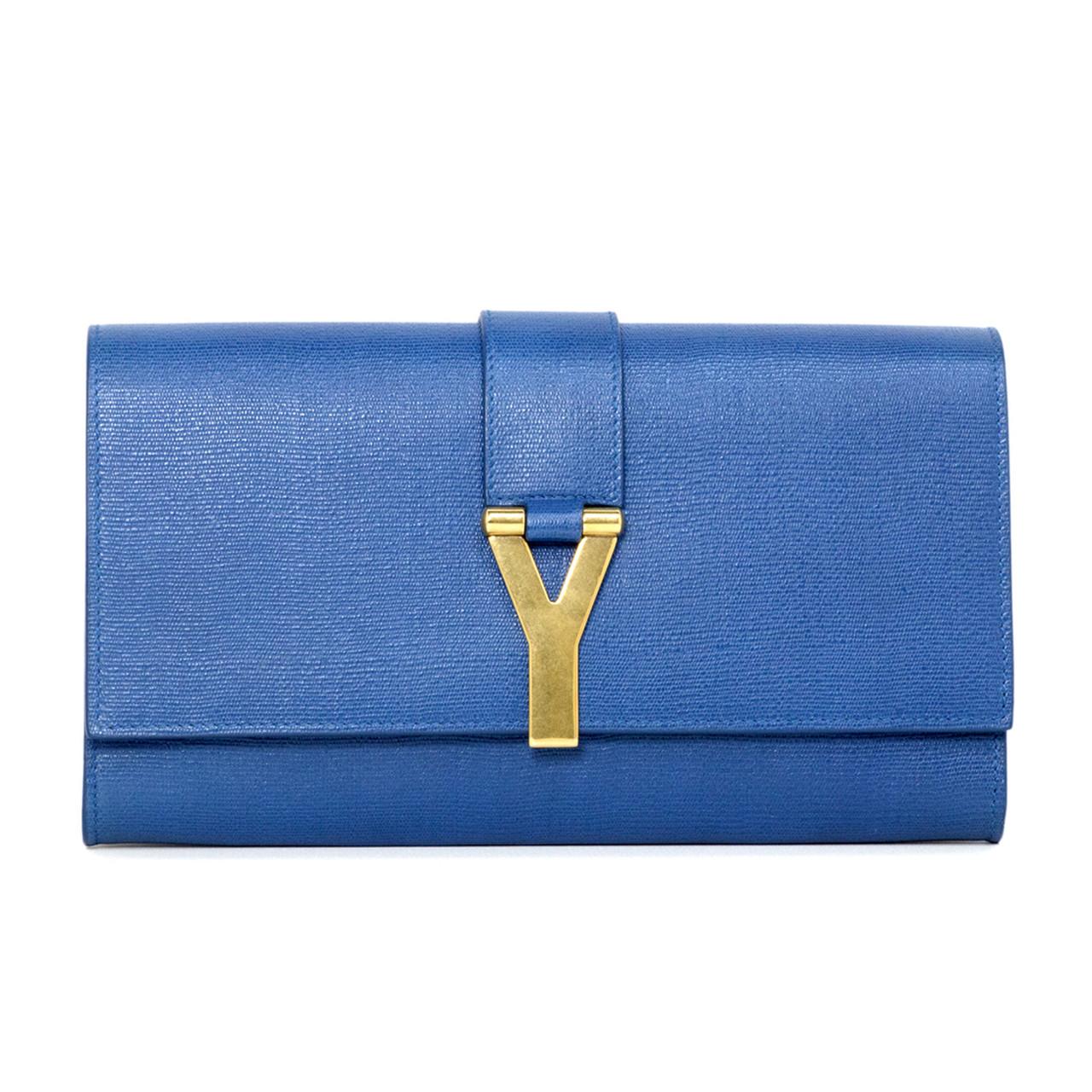 50f8bdc779b Ysl saint laurent blue textured calfskin classic clutch modaselle jpg  1280x1280 Ysl blue