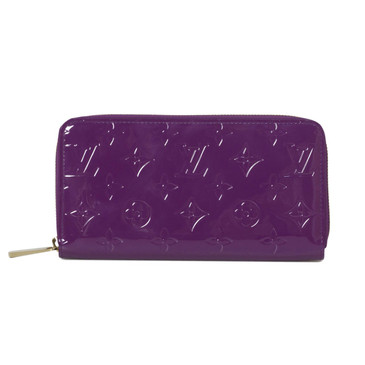Louis Vuitton Amethyste Vernis Zippy Wallet