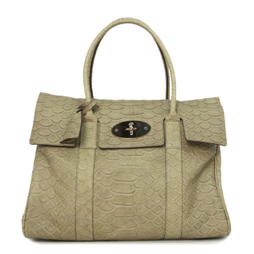 Mulberry Snake Embossed Bayswater Bag